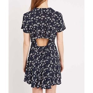 Urban outfitters kimchi blue open back dress